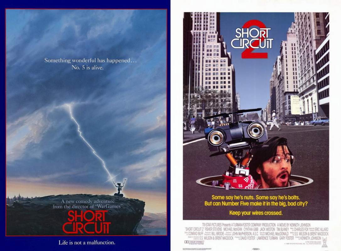 Short Circuit 2 Number 5 Is Alive Johnny From The Movie